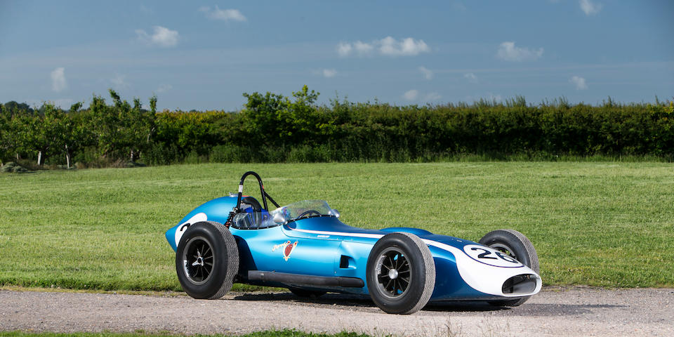 The Ex-Lance Reventlow/Chuck Daigh,1960 Scarab-Offenhauser  Formula 1/Intercontinental Formula Racing Single-Seater  Chassis no. 001