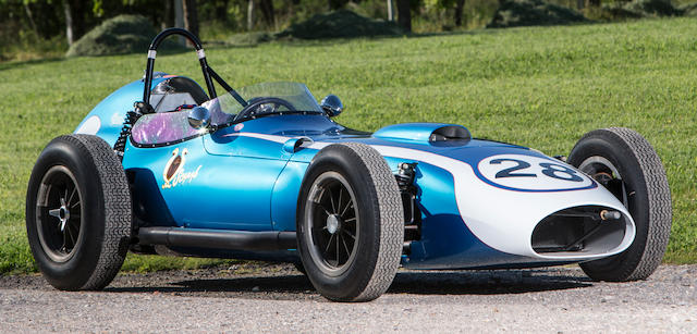 The Don Orosco/Patrick Orosco,1960-Type Scarab-Offenhauser Formula 1/Intercontinental Formula Racing Single-Seater  Chassis no. 002