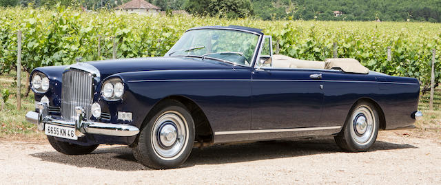 Bentley S3 Continental Coup233 1962