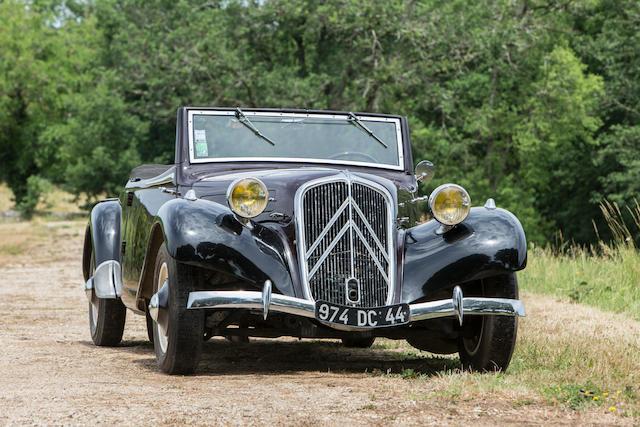 Citroën 11 BN « Traction avant » Cabriolet-roadster 1937