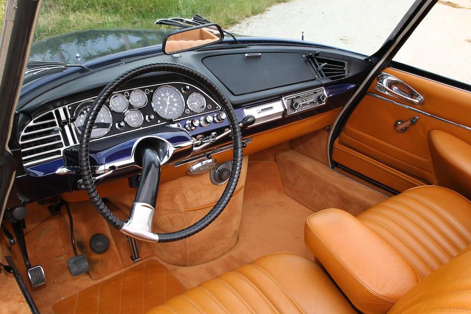 1967 Citroën  DS 21 Décapotable  Chassis no. DS21M4473040 Engine no. 0574002901