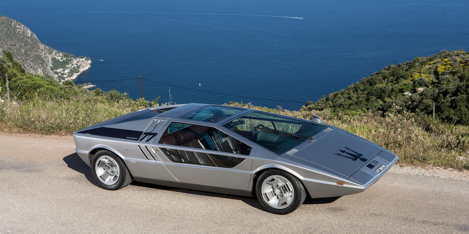 1972 Maserati  Boomerang   Chassis no. 081 Engine no. 902