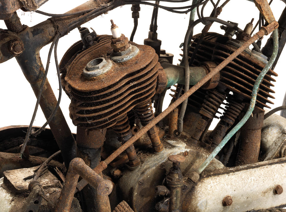 Property of a deceased's estate,1930 BSA 770cc Model E Engine no. XY862