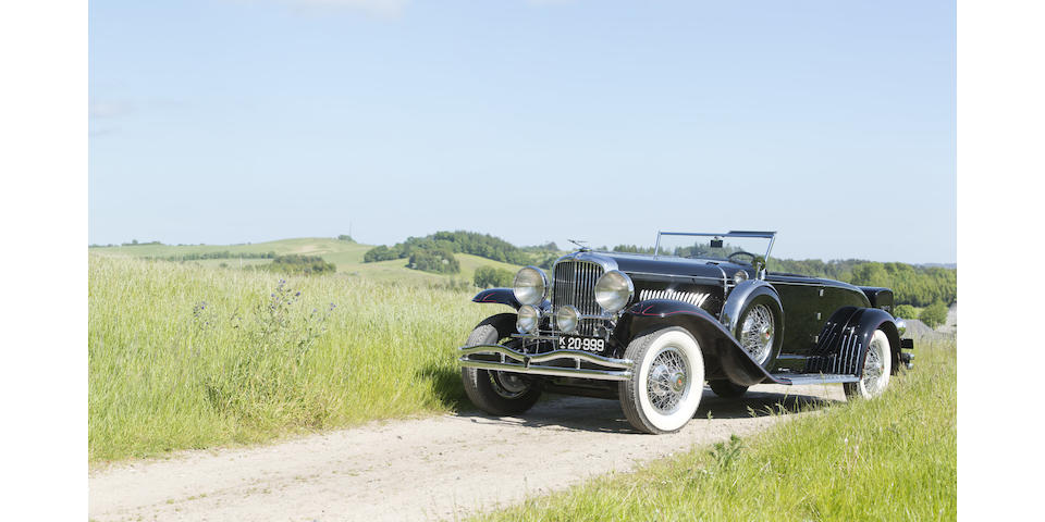 From the Frederiksen Collection,1931 Duesenberg Model J Disappearing Top