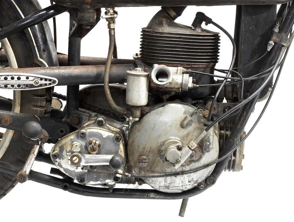 1938 DKW 250SS Supercharged Racing Motorcycle Frame no. 260420 Engine no. 429 378 (see text)