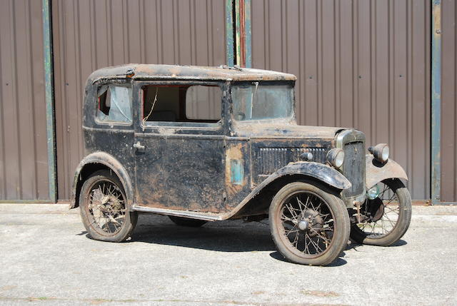 1932 Austin Seven RN Saloon Project  Chassis no. 149732 Engine no. M150067
