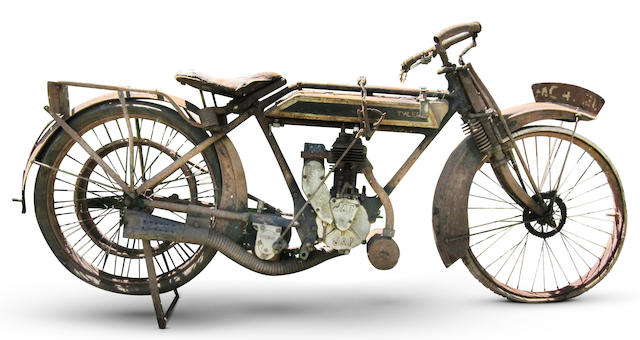 Property of a deceased's estate,c.1918 Tyler 2½hp Motorcycle Engine no. A1447