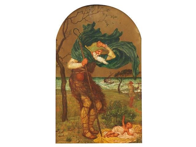 Walter Crane (British, 1845-1915) Three scenes from 'The Winter's Tale', each 49 x 30.5cm (19 5/16 x 12in).