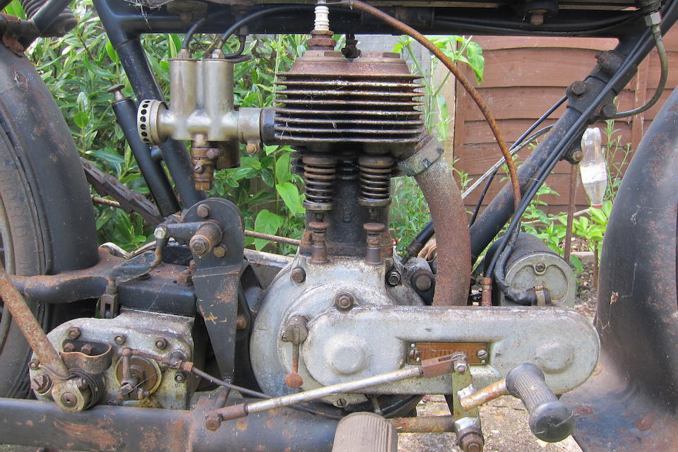 Property of a deceased's estate,1919 Triumph 550cc Model H Motorcycle Combination Project Frame no. 305486 Engine no. 65811 DTO