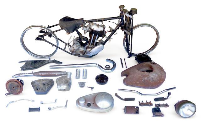 1939 AJS 348cc Model 26 Silver Streak Project Frame no. X2053 Engine no. 39/26SS 8621
