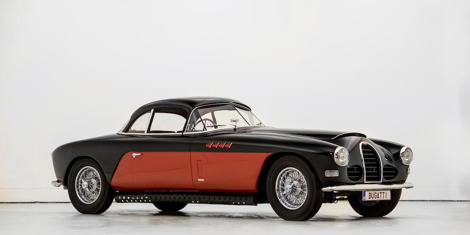 Ex Nicolas Cage,Bugatti  Type 101C coupé Antem 1954