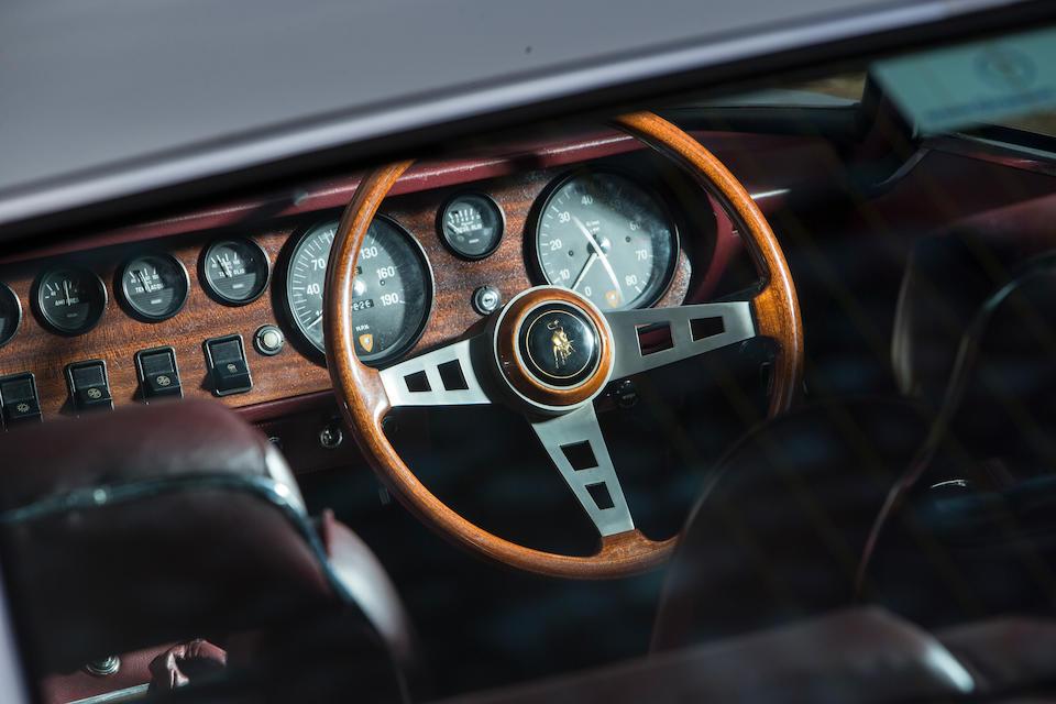 1969 Lamborghini Islero S Coupé  Chassis no. 6432 Engine no. 2988