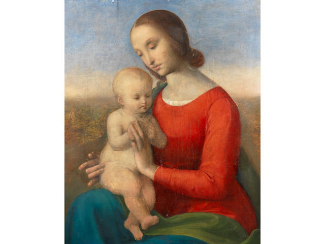 Umbrian School, 19th Century The Madonna and Child