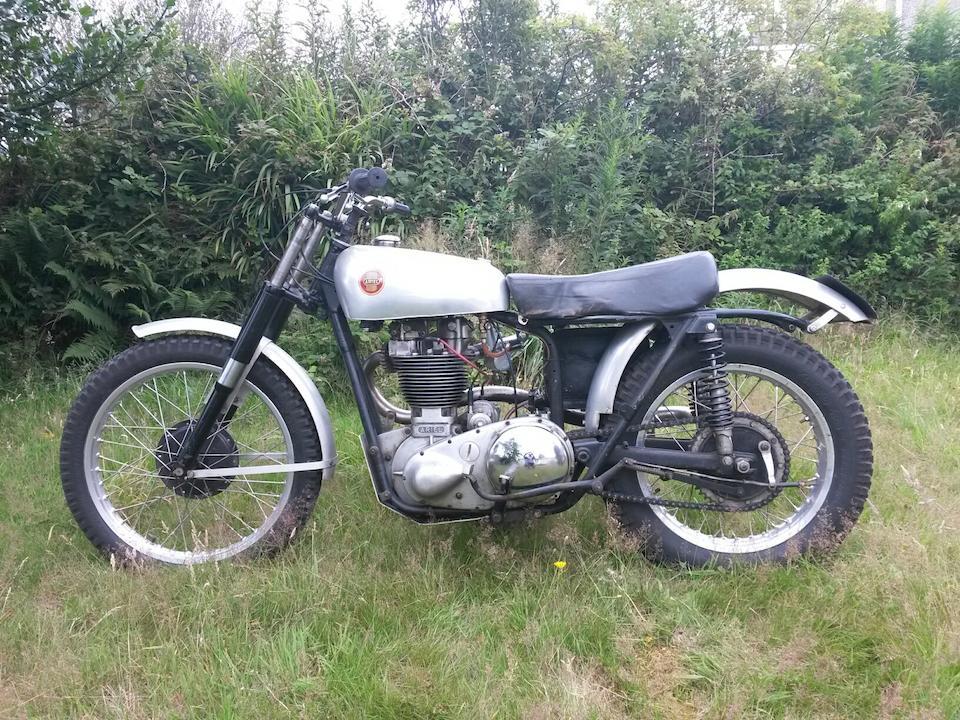 1954 Ariel 499cc HS5 Mk1 Frame no. KSS  277 Engine no. PS 259
