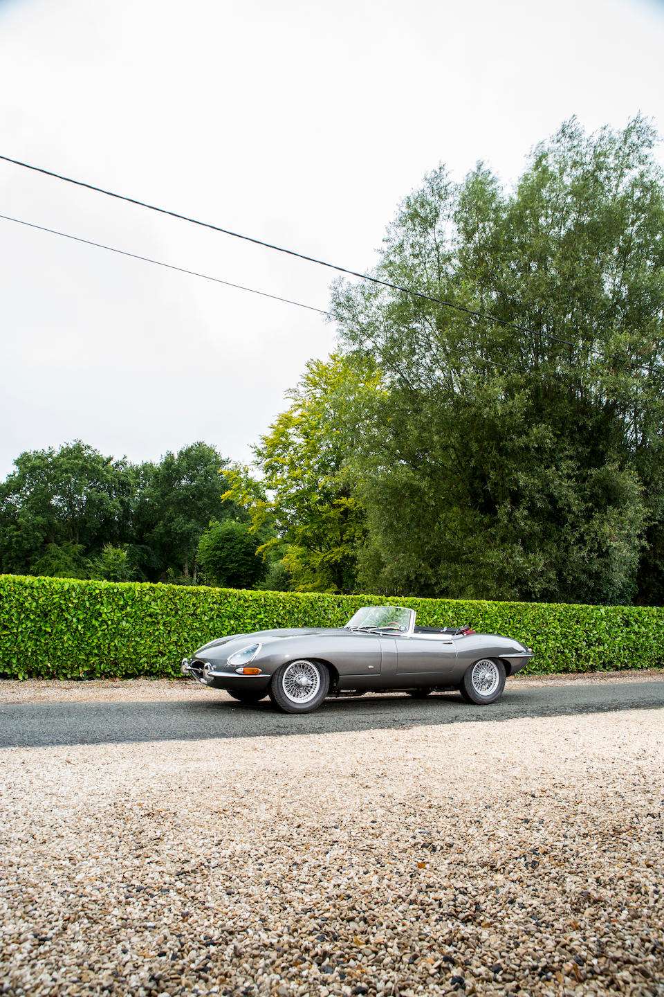 The Ex-Ado Blaton,1961 Jaguar E-Type 'Series 1' 3.8-Litre Flat Floor – External Bonnet Lock Roadster  Chassis no. 875353 Engine no. R1507-8