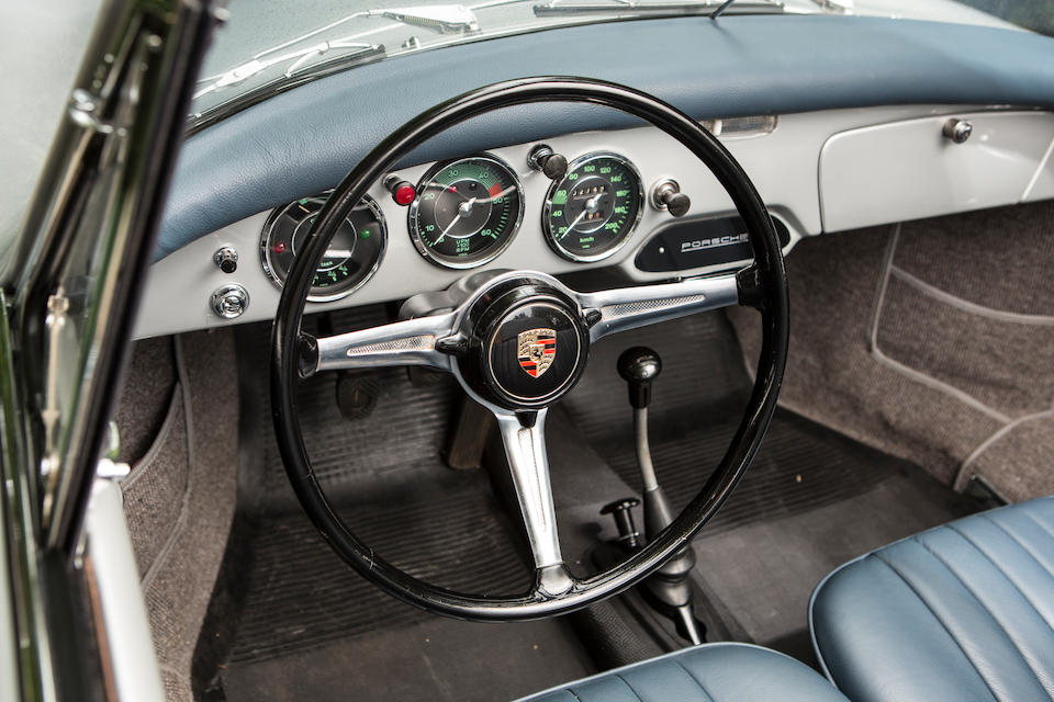 Matching numbers and colours ,1959 Porsche 356B 1600 Super Cabriolet  Chassis no. 152823 Engine no. 85330