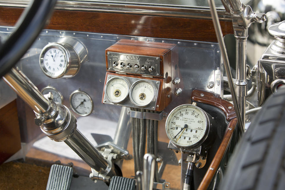 1912 ROLLS-ROYCE 40/50 SILVER GHOST CABRIOLET  Chassis no. 2145 Engine no. 47D