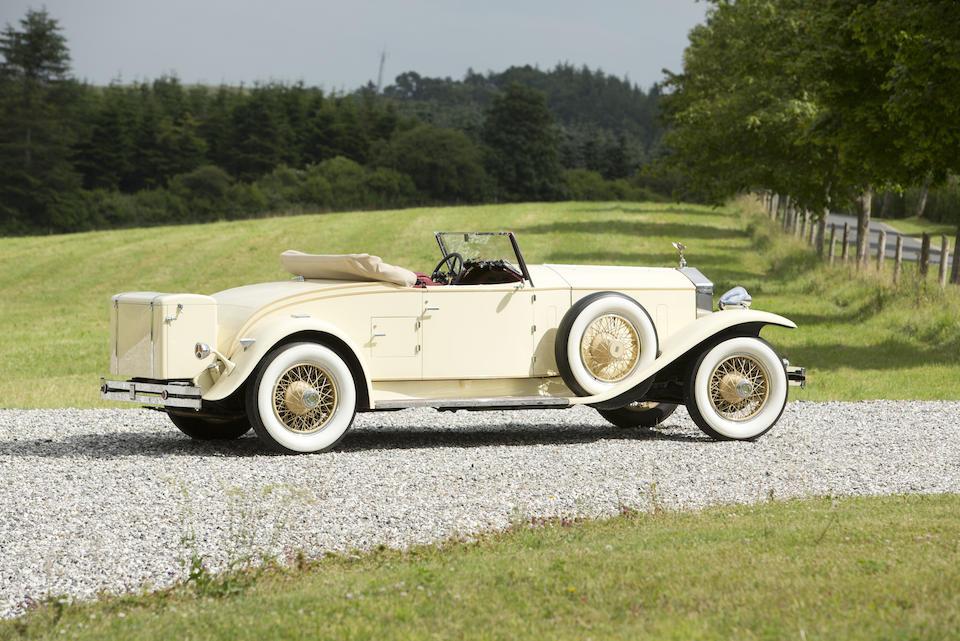 1931  ROLLS-ROYCE  PHANTOM I PLAYBOY ROADSTER  Chassis no. S186PR Engine no. 30860