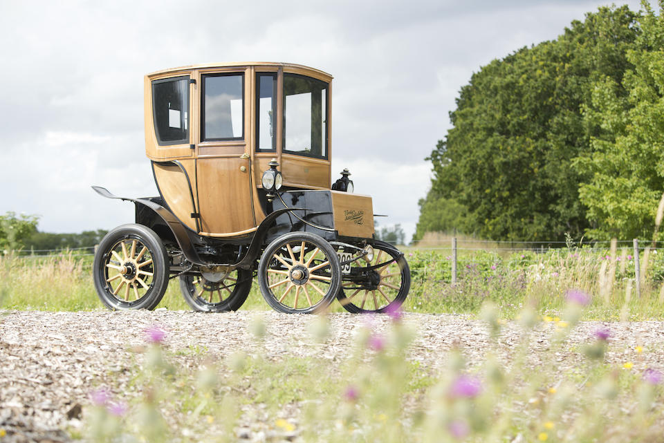 1905 WOODS ELECTRIC QUEENS VICTORIA BROUGHAM  Chassis no. 2843