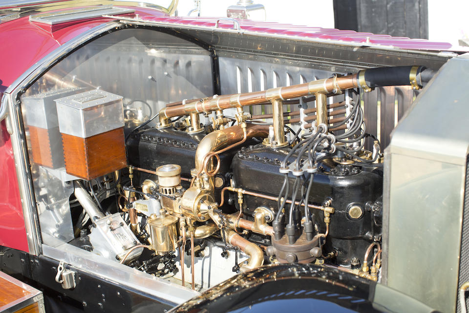The ex-Maharaja of Patiala and Richard J. Solove,1913 ROLLS-ROYCE 40/50 SILVER GHOST TOURER  Chassis no. 2517 Engine no. 17P