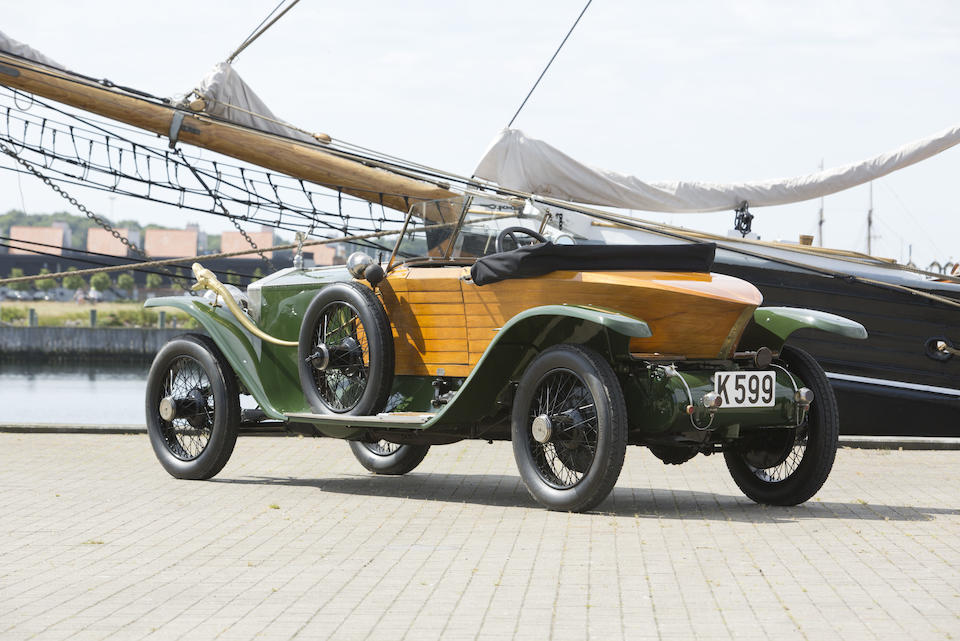 The ex-Robert Barrymore,1914 ROLLS-ROYCE  40/50 SILVER GHOST SKIFF  Chassis no. 54PB Engine no. 45J