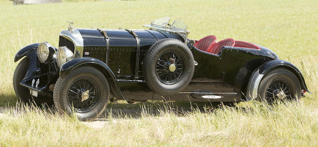 Rare Short-chassis Example,1927 BENTLEY  6½ LITRE 'BOB-TAIL'  Chassis no. WK 2658 Engine no. WK 2653