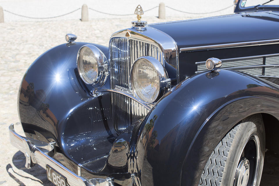 The ex-Maharaja of Patiala,1933 MAYBACH DS-8 ZEPPELIN CABRIOLETCoachwork in the style of Spohn  Chassis no. 1435 Engine no. 482-25120