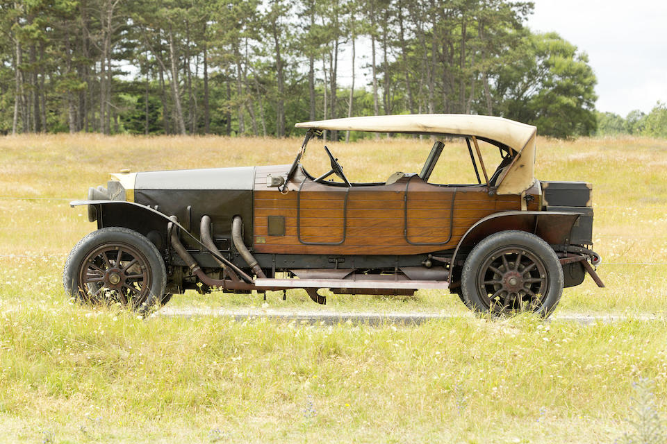 The ex-Ben Moser, Bill Evans and Richard Paine,1914 MERCEDES 28/95 PHAETONCoachwork made for C.L. Charley  Chassis no. 15979 Engine no. 22781Kommissionsnummer 16835