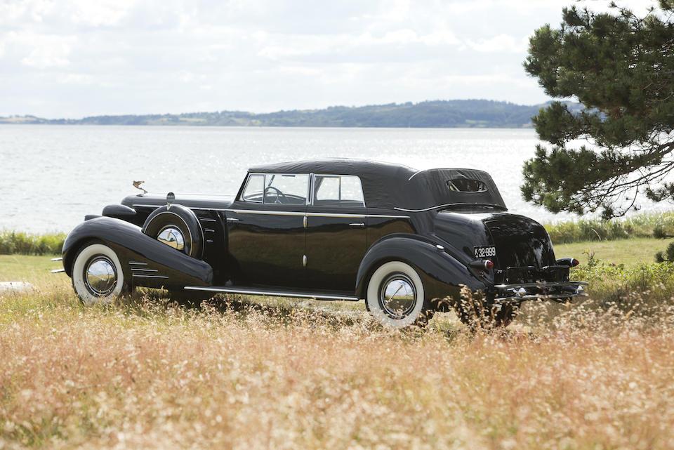 1934 CADILLAC V-16 SERIES 452 CONVERTIBLE SEDAN  Chassis no. 5100040 Engine no. 5100040