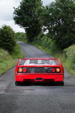 1993 Ferrari F40 Berlinetta  Chassis no. ZFFGJ34B00093779 Engine no. 31221