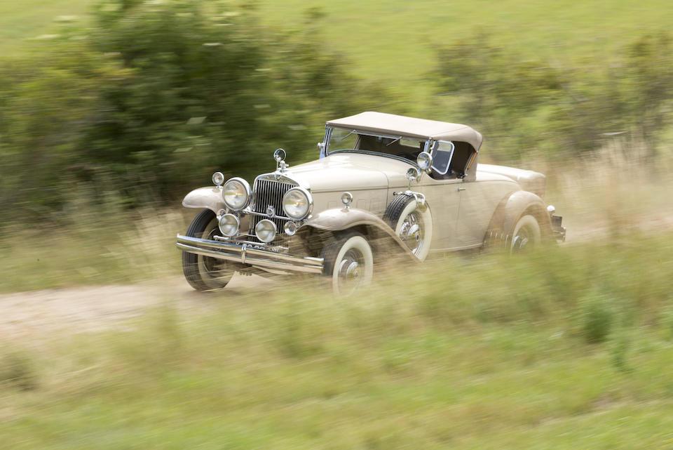 The ex-Alexander Kennedy Miller,1933 STUTZ DV-32 ROADSTER  Chassis no. DV241505 Engine no. DV33210