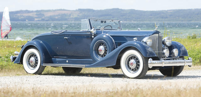 1934  PACKARD  TWELVE 1107 COUPE ROADSTER  Chassis no. 73936 Engine no. 901822