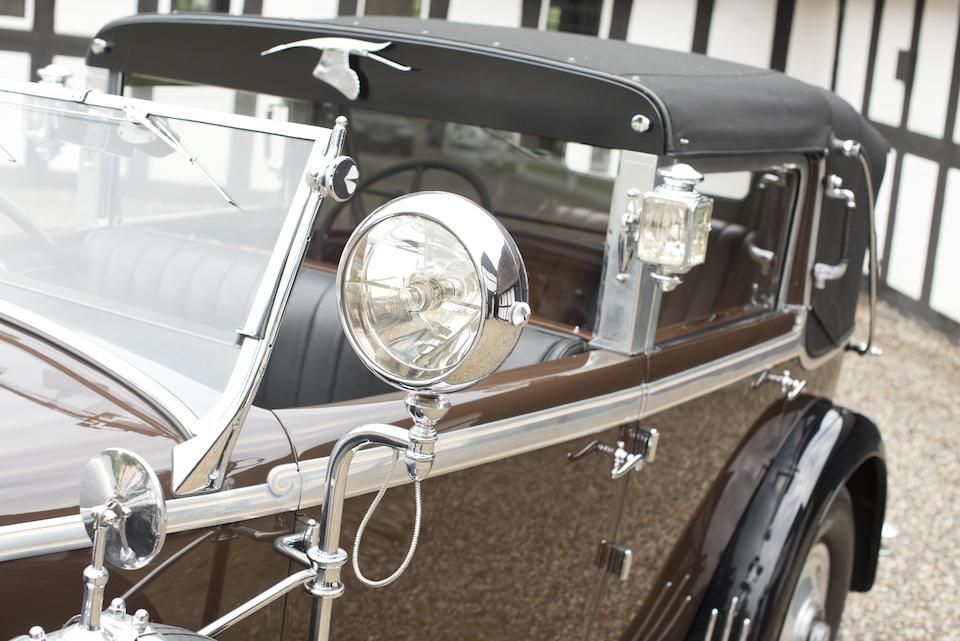 1930 HISPANO-SUIZA H6C CABRIOLET DE VILLE  Chassis no. 12401 Engine no. 320137