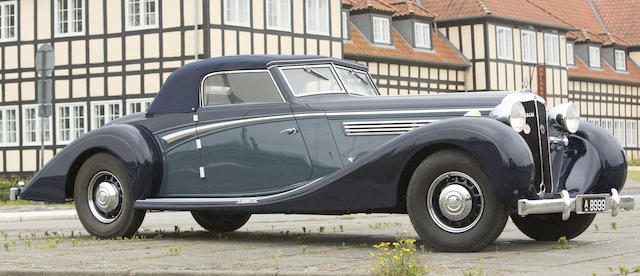 1937 MAYBACH SW-38 'SPECIAL ROADSTER'Coachwork in the style of Spohn  Chassis no. 1834 Engine no. 11294