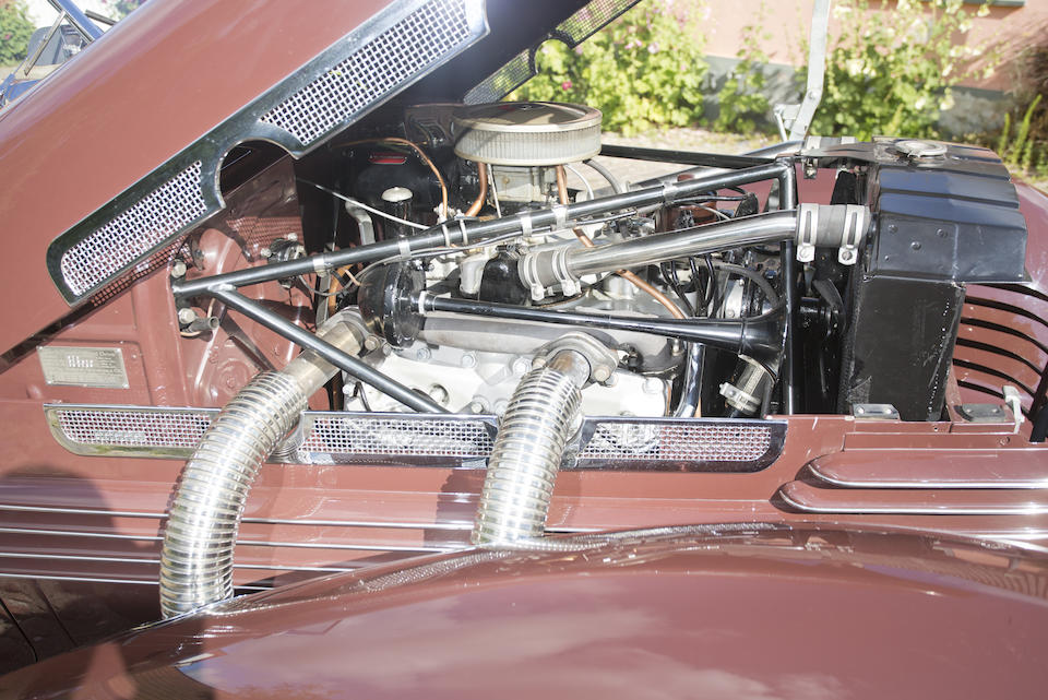 1937 CORD 812 SUPERCHARGED 'SPORTSMAN'  Chassis no. 31631F Engine no. FC2136