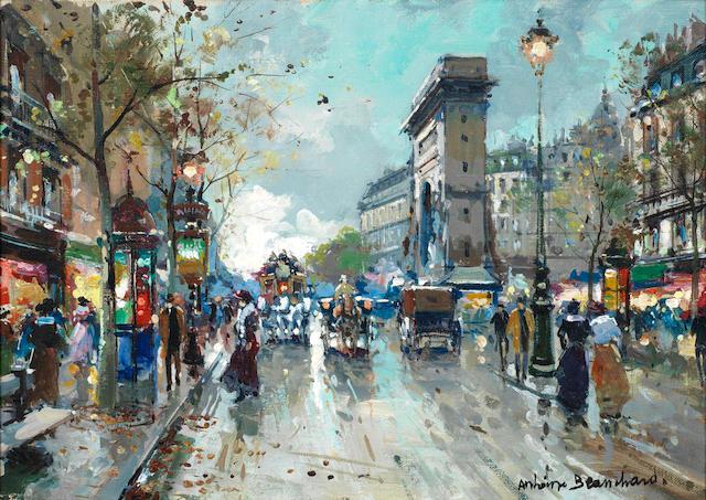 Antoine Blanchard (French, 1910-1988) Porte St. Denis