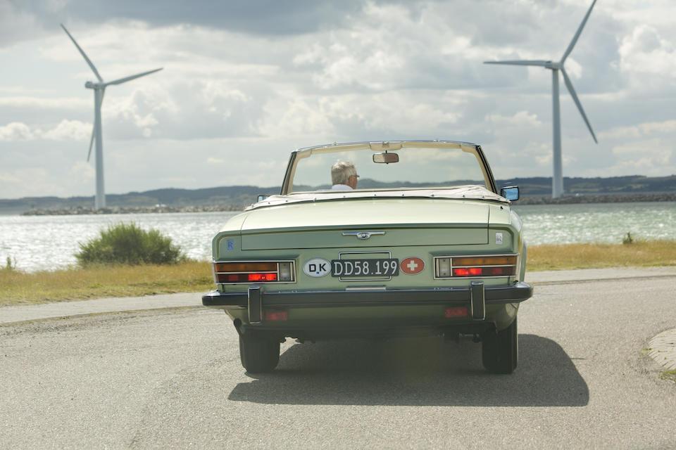 The unique Pietro Frua,1973 ROLLS-ROYCE  PHANTOM VI CABRIOLET  Chassis no. PRX4705
