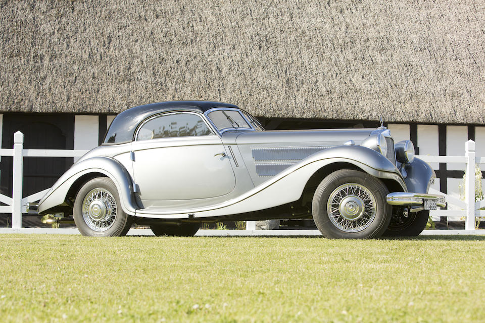 1937 MERCEDES-BENZ 320N CABRIOLET A  Chassis no. 172289 Engine no. 10142029558