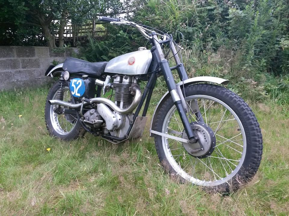 1954 Ariel 499cc HS5 Mk1 Frame no. KSS  277 Engine no. PS 259