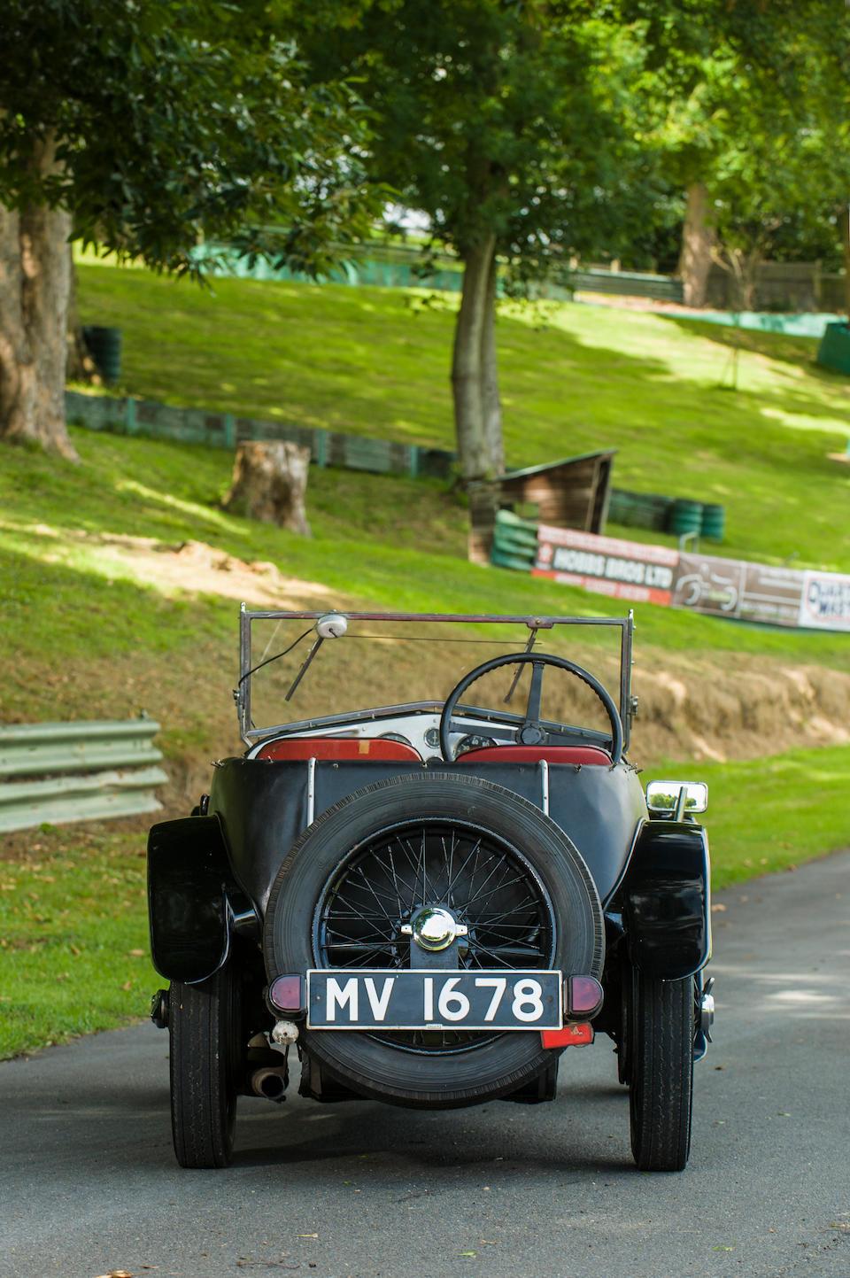 1932 Frazer Nash Colmore Sports  Chassis no. 10246 Engine no. 71113
