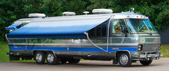 1992 Airstream 350LE Class A Motorhome  Chassis no. 1GBKP37N7M3312946