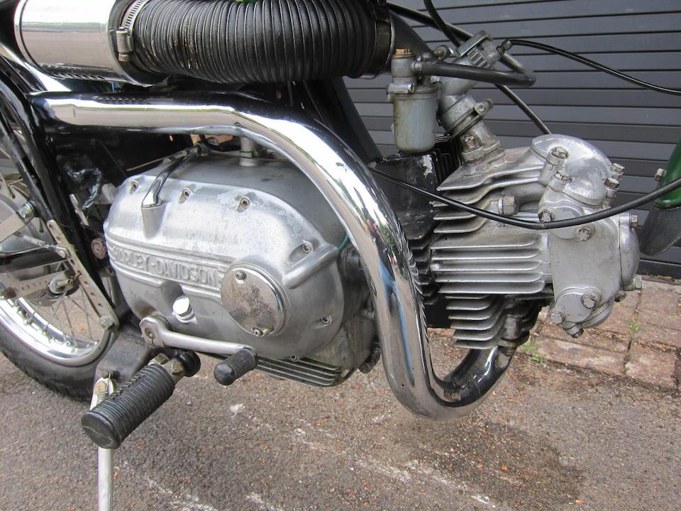 1964 Harley-Davidson (Aermacchi) 250cc Sprint H Street Scrambler Frame no. 64H2897 Engine no. 64H2897