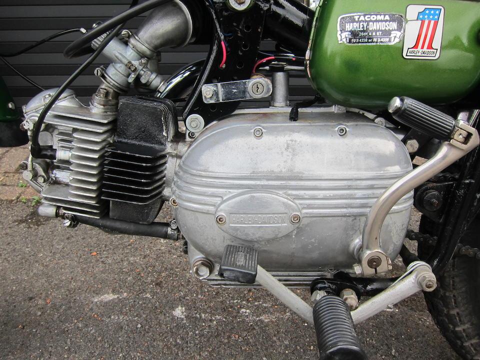 Bonhams : 1964 Harley-Davidson (Aermacchi) 250cc Sprint H Street