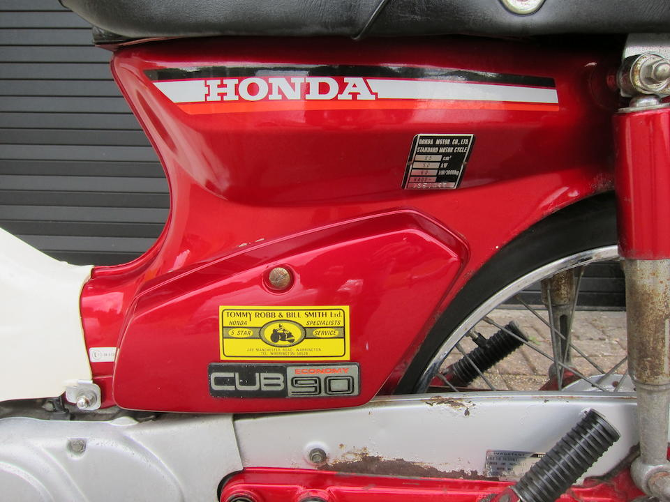 1984 Honda C90 'Economy' Cub Moped Frame no. HA02-1351097 Engine no. HA02-E1351023