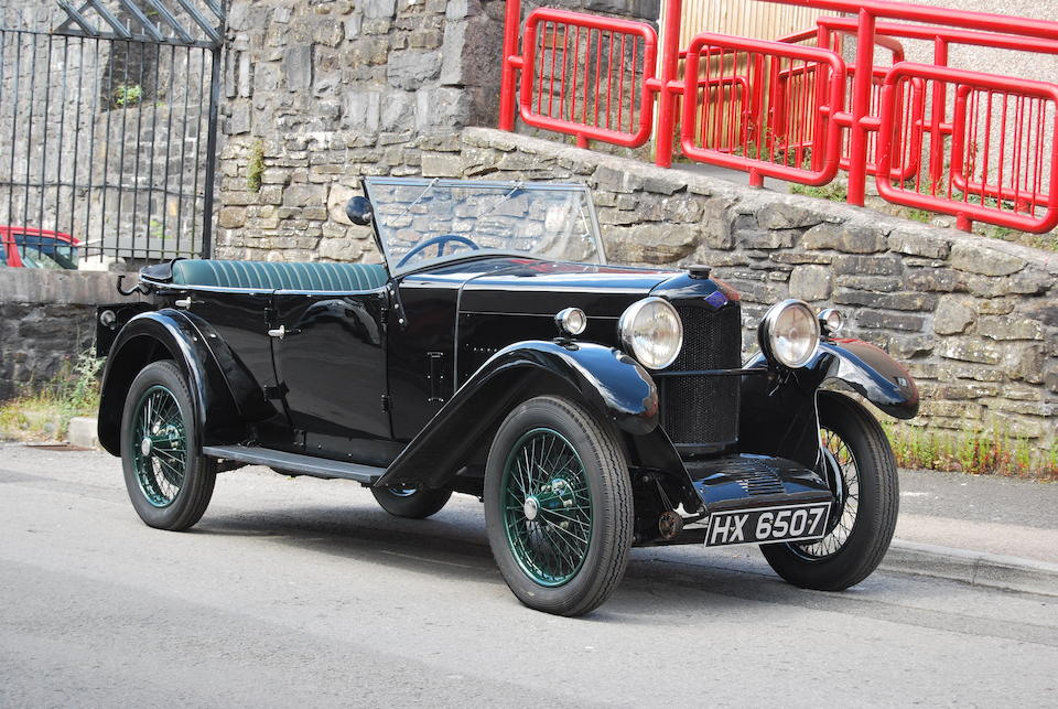 1931 Riley 9hp WD Tourer  Chassis no. 6014408 Engine no. 32788