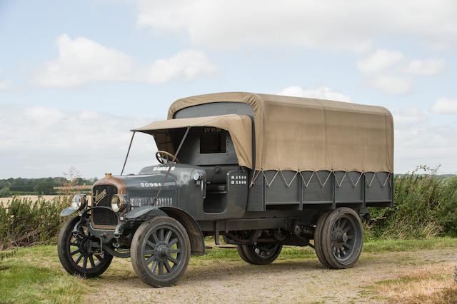 1917 Saurer Lorry  Chassis no. 8383