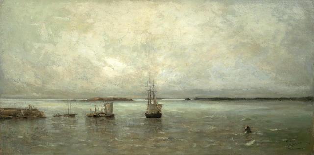 Louis Artan de Saint-Martin (Dutch, 1837-1890) Souvenir of Guernsey