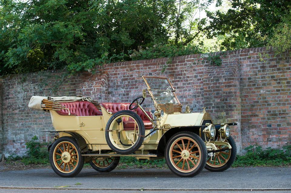 1909 Belsize 14/16hp 'Roi des Belges' Tourer  Engine no. G78