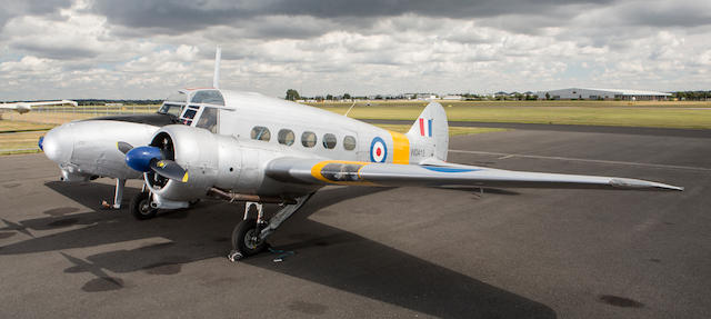 1950 Avro Anson Twin-engined Trainer