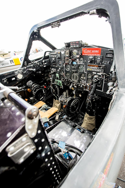 1958 de Havilland Vampire T55 Twin-Boom Jet Trainer
